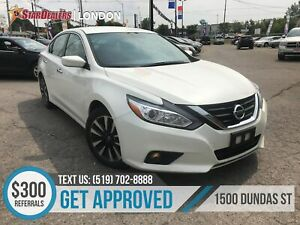 2018 Nissan Altima 2.5 SV   ONE OWNER   CAM   HEATED SEATS