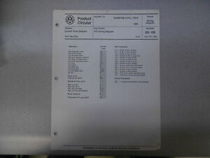 1985 vw quantum 4 cylinder cis e a c wiring diagram service manual image is loading 1985 vw quantum 4 cylinder cis e a c wiring