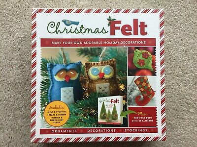 Christmas Felt Make Your Own Adorable Holiday Decorations ()
