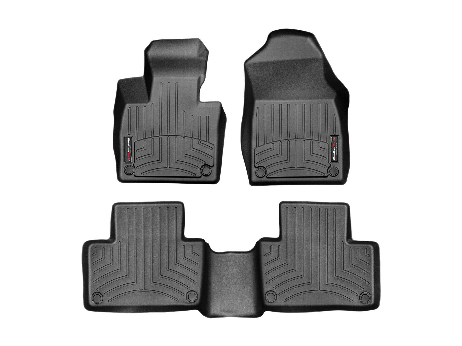 WeatherTech Custom Fit Rear FloorLiner for Ford Explorer Black