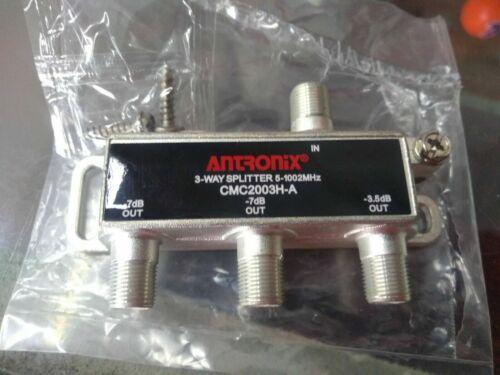3 - way Antronix CMC2003HA Cable TV Splitter Coaxial RG6 Coax splitter 3 output