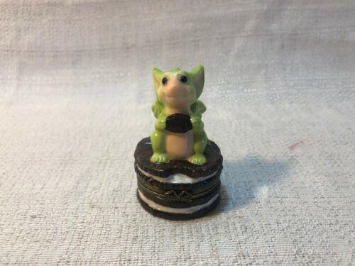 Whimsical World Of Pocket Dragons Nibble Box Dragon Figurine New