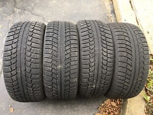 Gislaved Nord Frost 4 pneus hiver 225/50 R17 (Excellente cond.