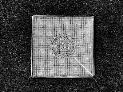 Platinum Small Square Plate - Hermes MOSAIQUE AU 24 Platinum Small Square Plate