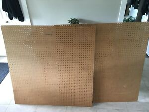 ***Lightly Used 4x4 Sheet of Peg-Board; 2 For Sale $15.00each***