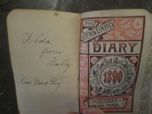 Martha Manning Andover MA School Teacher Diaries 1887, 1890 Academy Seminary