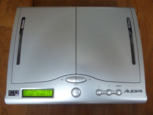 Alesis CD TWIN Portable CD Backup and Copy System