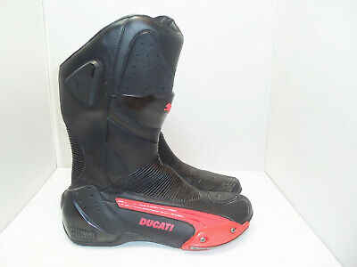 Men's Puma Ducati motorcycle leather boots size 44 US 11