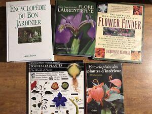 Livres horticulture - ouvrages de référence en très bon état
