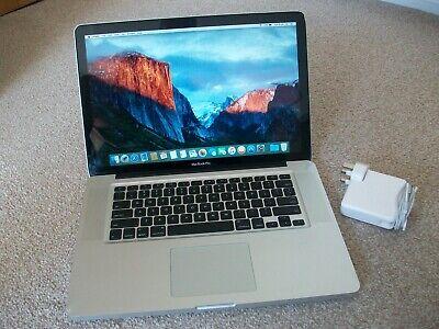 """Macbook Pro 15""""  4GB RAM 128GB SSD A1286"""