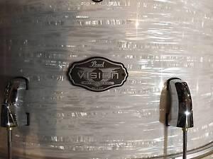 Pearl Vision Strata White NEW @ Music Park's Drum Dept Victoria Park Victoria Park Area Preview