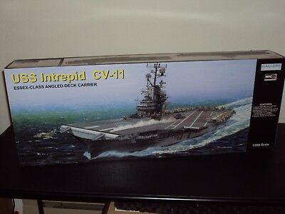 MRC/Gallery 1/350 Scale Aircraft Carrier USS Intrepid (CV-11) - New In Open Box for sale  Gresham