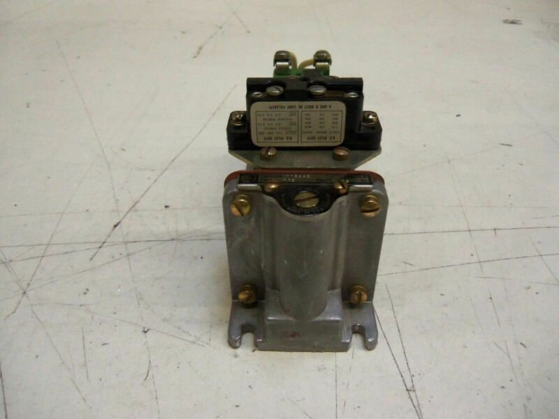 GENERAL ELECTRIC CR2820B110AA2 TIME DELAY RELAY 115V  * USED *