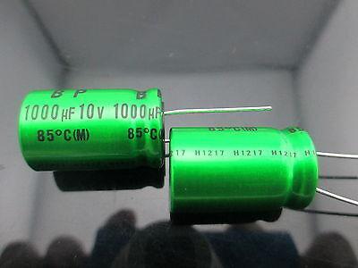 Japan 2pcs Nichicon Muse Es Bp 1000uf 10v 1000mfd Audio Capacitor Caps