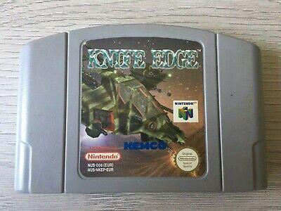 Nintendo 64 N64 PAL game Knife Edge - Cart only - Free UK postage