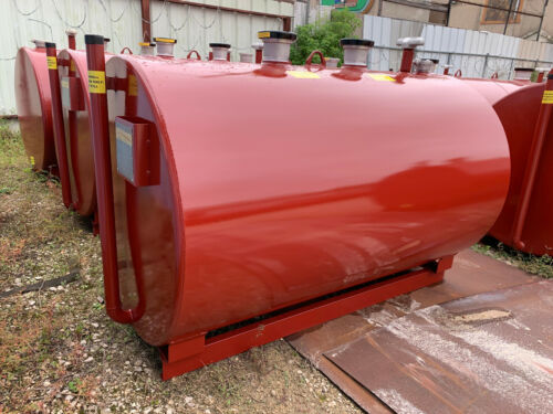 515 gallon UL 142 aboveground double wall fuel storage tank
