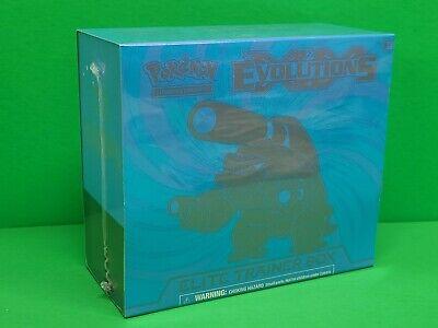 Pokemon XY Evolutions Elite Trainer Box Blastoise Brand New Factory Sealed!!