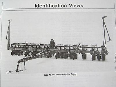 John Deere 7200 Maxemerge 2 Consr 8 Row Wide12-narrow Planter Operators Manual