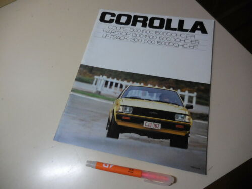 TOYOTA Corolla Japanese Brochure 1979/03 KE70 AE70 TE71 4K-U 3A-U 2T-GEU