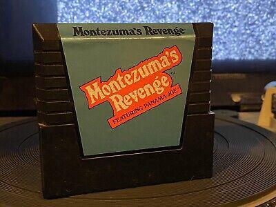 Atari 5200 Montezuma's Revenge Video Game Videogame Cartridge Tested/Works