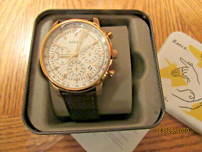*WOW* MEN'S FOSSIL FS5415 CHRONOGRAPH, BRAND NEW W/TAGS, $145.00 MSRP -L@@K!