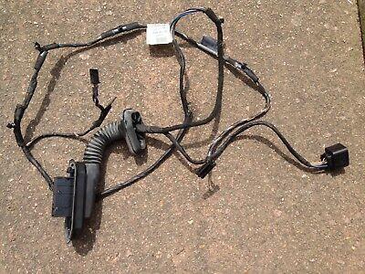 BMW E60 E61 PASSENGER NEAR SIDE REAR DOOR WIRING LOOM 6982362 6972558