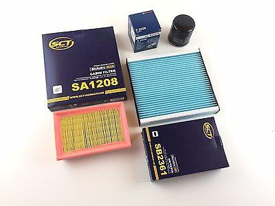 13w Luft (Ölfilter Luftfilter Pollenfilter Toyota Yaris NHP13 NSP13 NCP13 KSP13 1.5Hybrid )