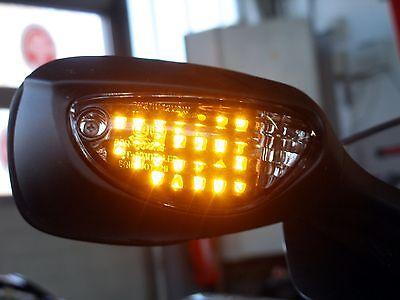 Schwarze LED Front Blinker Suzuki GSX R 600 750 K6 K7 K8 K9 L0 L1 L2 L3 L4 L5 L6