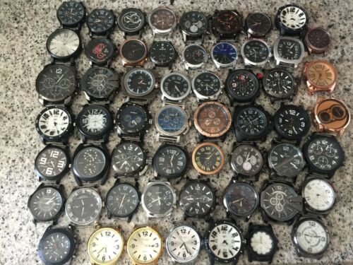 Wrist Watches lot stock mens womens mixed Timezone Army Miltary Masculine Sub