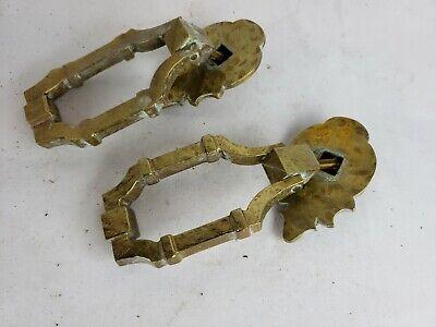 Pair of antique door knobs, Russwin, Knox