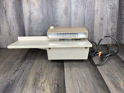 Vintage Boston Hunt Manufacturing Model 50 Electric Envelope Letter Opener