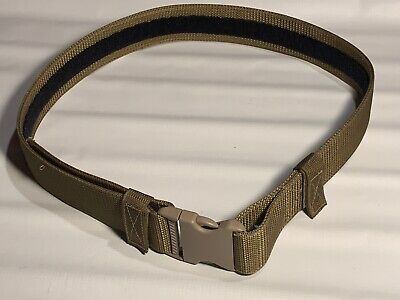 Military Law Enforcement Coyote Brown Tactical Duty Belt