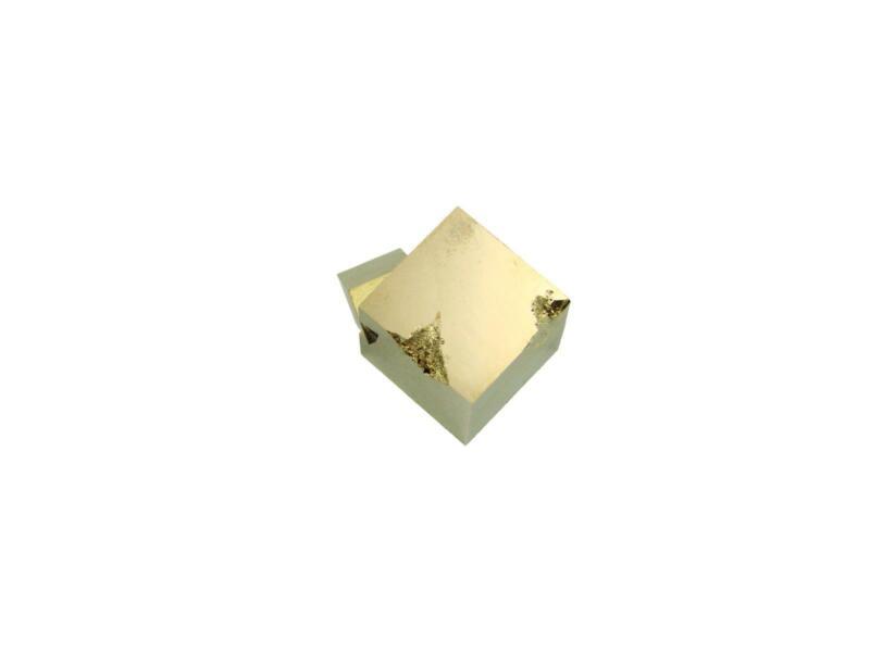 Navajun Spain Mine - Pyrite Cube Crystal With Display Case-#PC33