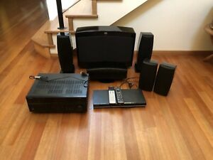 SoNHC 5 speaker and amplifier home theatre system
