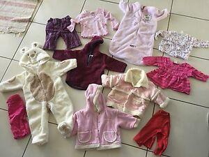 Size 0-1 girls winter clothes Logan Village Logan Area Preview
