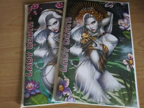 Lady Death Damnation Game 1. Spring Equinox Editions. Sorah Suhng Covers.