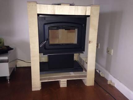 Wood Fire Heater (Coonara Type) inc. Flue Kit Werribee Wyndham Area Preview