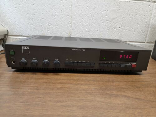 Vintage NAD 7125 Stereo Receiver - Phono Input - Made in Japan