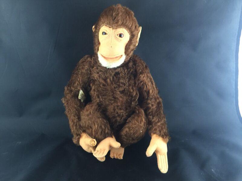 "ANTIQUE Steiff ""Jocko"" Monkey - Mohair German Stuffed Toy Collectible"