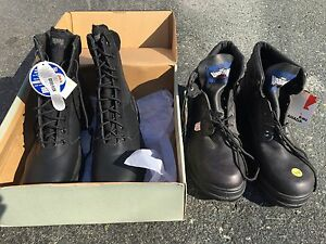 Men's steel toe boots