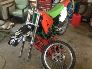 90 CR250  project or parts bike.