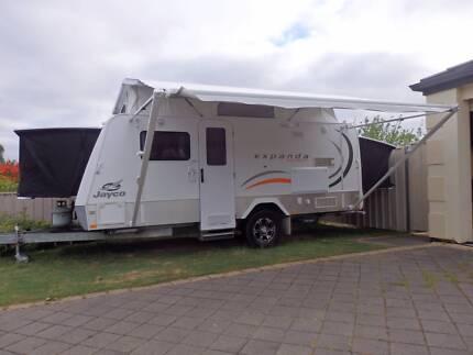 2011 Jayco Expanda Outback 16.49-2HL with bunks