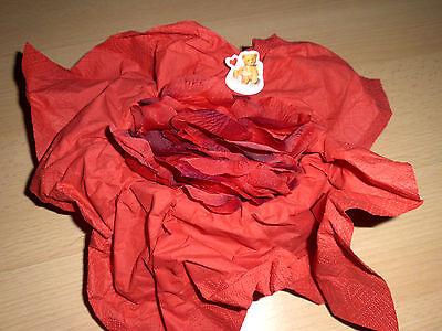 �tter * Deko-Blätter * rote Blüten (Künstliche Rote Rosen)