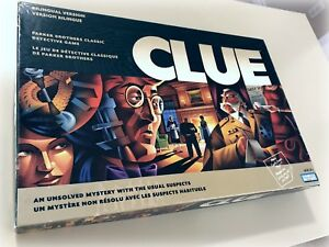 Clue Board Game - Hasbro Company 2002. Complete unused.