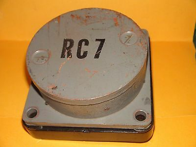 Western Electric US NAVY RC7 Receiver Horn Driver Speaker D173246 RARE~ Anchor