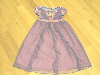 RAPUNZEL Nachthemd 98 104 92 110 Kostüm Kleid DISNEY STORE Tangled Neu Verföhnt ()
