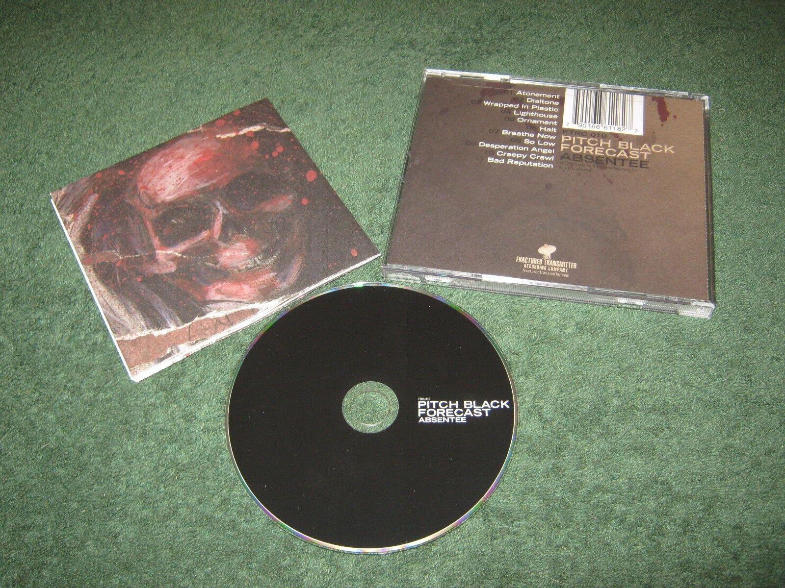 Pitch Black Forecast - Absentee (cd) j mann mushroomhead jason popson