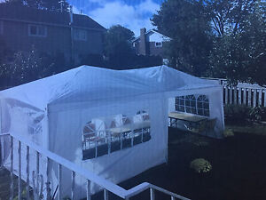 10x12 White Party Tent USED ONCE