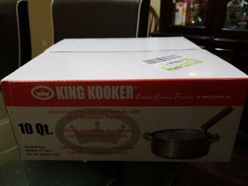 King Kooker Aluminum Deep Fryer 10.5 Qt.