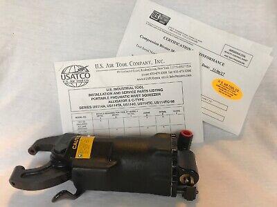 U.s. Air Tool Company Inc. Alligator Compression Riveter Model Us114a New